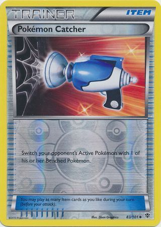 83/101 (U) Pokemon Catcher - Reverse Foil
