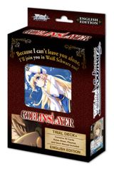 """Weiss Schwarz English Trial Deck+ (Plus) """"Goblin Slayer"""" by Bushiroad"""