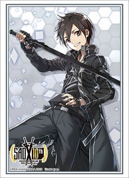 "Sleeve Collection HG ""Dengeki Bunko Sword Art Online 10th Anniversary Key Visual (Kirito) SAO"" Vol.2280 by Bushiroad"