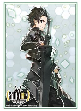 "Sleeve Collection HG ""Dengeki Bunko Sword Art Online 10th Anniversary Key Visual (Kirito) ALO"" Vol.2282 by Bushiroad"