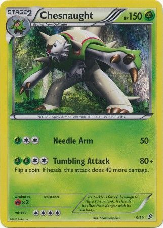 5/39 Chesnaught - Foil