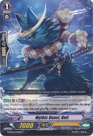 G-BT04/074EN (C) Mythic Beast, Hati