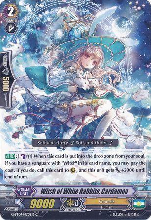 G-BT04/070EN (C) Witch of White Rabbits, Cardamon