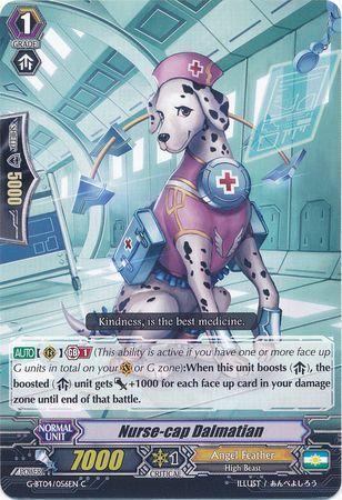 G-BT04/056EN (C) Nurse-cap Dalmatian