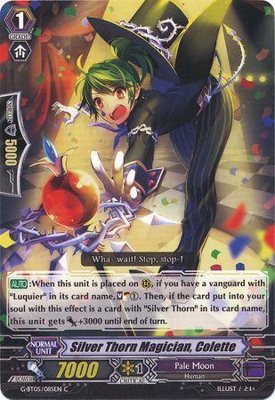 G-BT05/085EN (C) Silver Thorn Magician, Colette