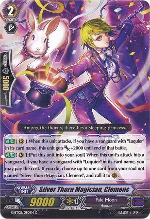 G-BT05/080EN (C) Silver Thorn Magician, Clemens