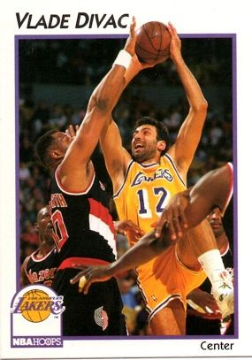 1991 NBAHoops #20 Vlade Divac - Standard