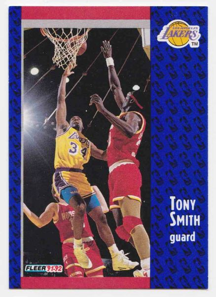1991 FLEER #303 Tony Smith - Standard