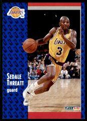 1991 FLEER #304 Sedale Threatt - Standard