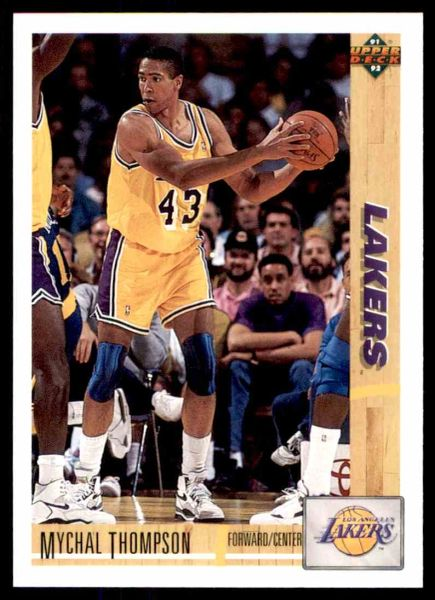 1991 FLEER #150 Mychal Thompson - Standard