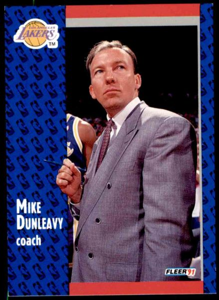 1991 FLEER #98 Mike Dunleavy - Standard