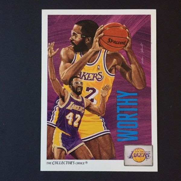 1991 Upper Deck #85 James Worthy - Standard
