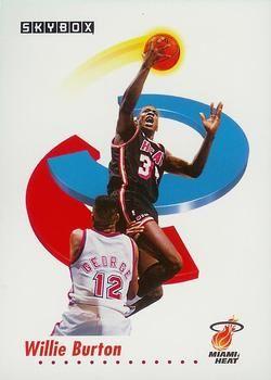 1991 SkyBox #144 Willie Burton - Standard