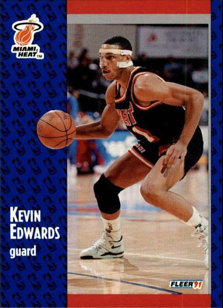 1991 FLEER #108 Kevin Edwards - Standard