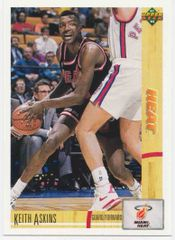 1991 Upper Deck Heat #130 Keith Askins - Standard
