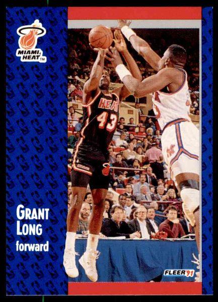 1991 FLEER #109 Grant Long - Standard
