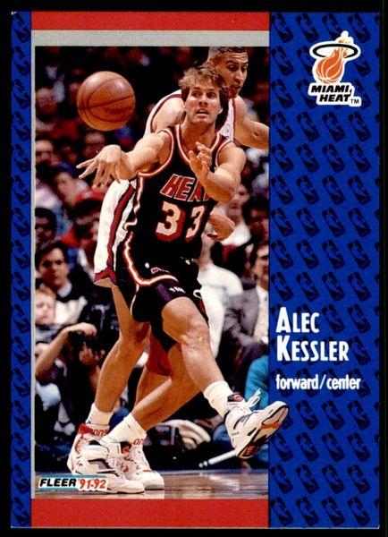 1991 FLEER #306 Alec Kessler - Standard