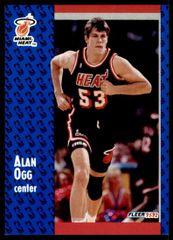 1991 FLEER #308 Alan Ogg - Standard