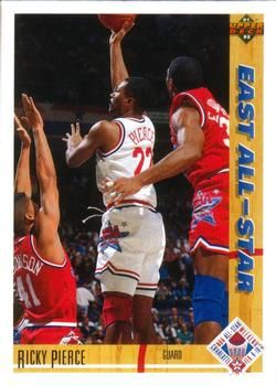 1991 Upper Deck East All-Star #67 Ricky Pierce - Standard