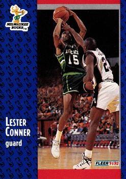 1991 FLEER #310 Lester Conner - Standard