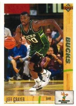 1991 Upper Deck Bucks #221 Jeff Grayer - Standard