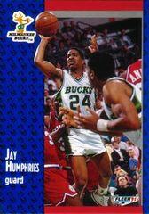1991 FLEER #116 Jay Humphries - Standard