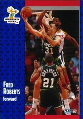 1991 FLEER #117 Fred Roberts - Standard