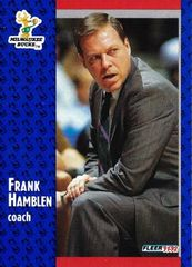 1991 FLEER #312 Frank Hamblen - Standard