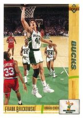 1991 Upper Deck Bucks #350 Frank Brickowski - Standard