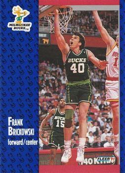 1991 FLEER #113 Frank Brickowski - Standard