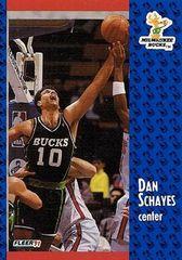 1991 FLEER #119 Dan Schayes - Standard