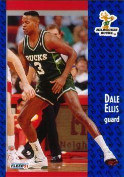 1991 FLEER #114 Dale Ellis - Standard