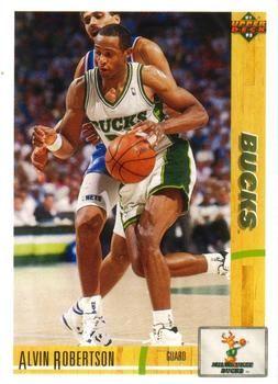 1991 Upper Deck Bucks #244 Alvin Robertson - Standard
