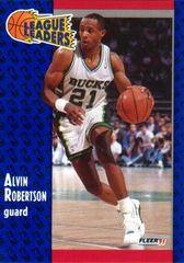 1991 FLEER #222 Alvin Robertson - Standard