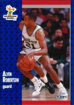 1991 FLEER #118 Alvin Robertson - Standard