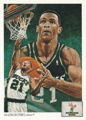 1991 Upper Deck #73 Alvin Robertson - Standard