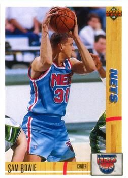 1991 Upper Deck NETS #231 Sam Bowie - Standard