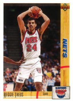 1991 Upper Deck NETS #264 Reggie Theus - Standard
