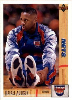 1991 Upper Deck NETS #429 Rafael Addison - Standard