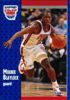 1991 FLEER #128 Mookie Blaylock - Standard