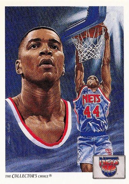 1991 Upper Deck #88 Derrick Coleman - Standard