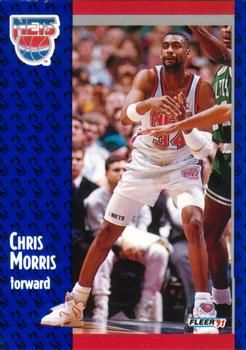 1991 FLEER #133 Chris Morris - Standard