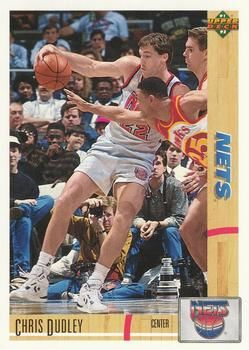 1991 Upper Deck NETS #311 Chris Dudley - Standard
