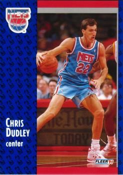 1991 FLEER #131 Chris Dudley - Standard