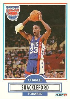 1990 FLEER #122 Charles Edward Shackleford - Standard
