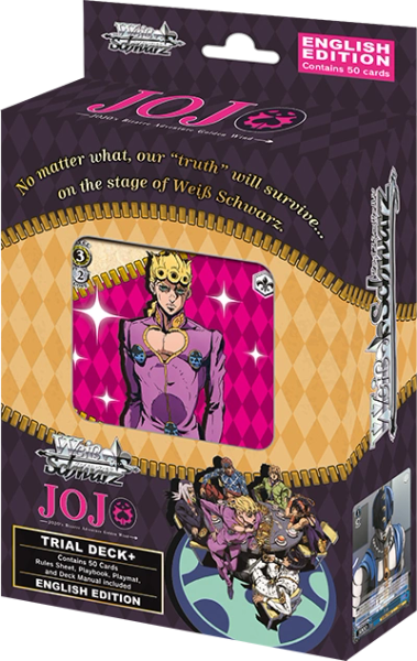 "Weiss Schwarz English Trial Deck+ (PLUS) ""JOJO's Bizarre Adventure Golden Wind"" by Bushiroad"
