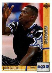 1991 Upper Deck MAGIC #205 Terry Catledge - Standard