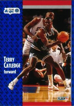 1991 FLEER #144 Terry Catledge - Standard