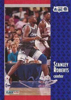 1991 FLEER #331 Stanley Roberts - Standard