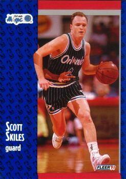 1991 FLEER #148 Scott Skiles - Standard